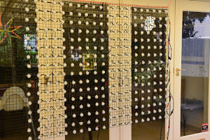 Christmas Light Pixel Matrix